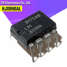 10PCS LM308N LM308 DIP8 DIP 308N ใหม่เดิม