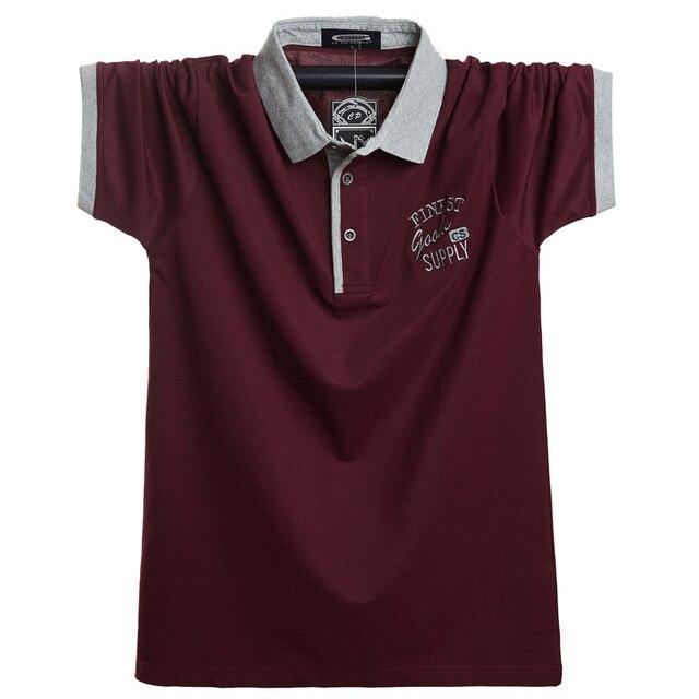 2020 erkekler kısa Polo GÖMLEK Slim Fit Camisa rahat pamuk yaz kısa kollu gömlek Homme 5XL artı boyutu iş iş başında gömlek