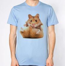 Hamster T Shirt Funny Hilarious Animal Pic Top Cartoon t shirt men Unisex New Fashion tshirt free shipping funny tops
