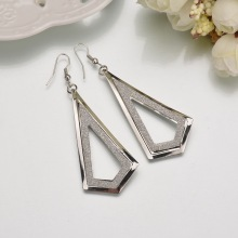 2020 hot earring frosted hollow pendant women's simple earrings Metal earrings