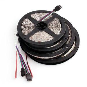 Image 5 - 5050 24 12v ledストリップライト防水rgb rgbw rgbww led照明ストリップ5メートル60leds/メートル柔軟なledランプストリップテレビバックライト24v