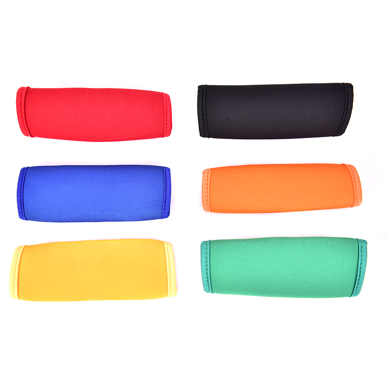 1pc New Trolley Protecting Glove Suitcase Neoprene Luggage Handle Cover Hostess Travelling Trolley Case Travel Accessories Part