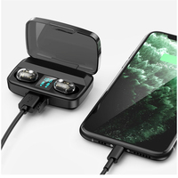 case iphone 5 Wireless 5.0 Bluetooth headset 3D Stereo Wireless Earphone Headset 1800mAh Battery LED Display Charge Case For iPhone Xiaomi Hua (1)