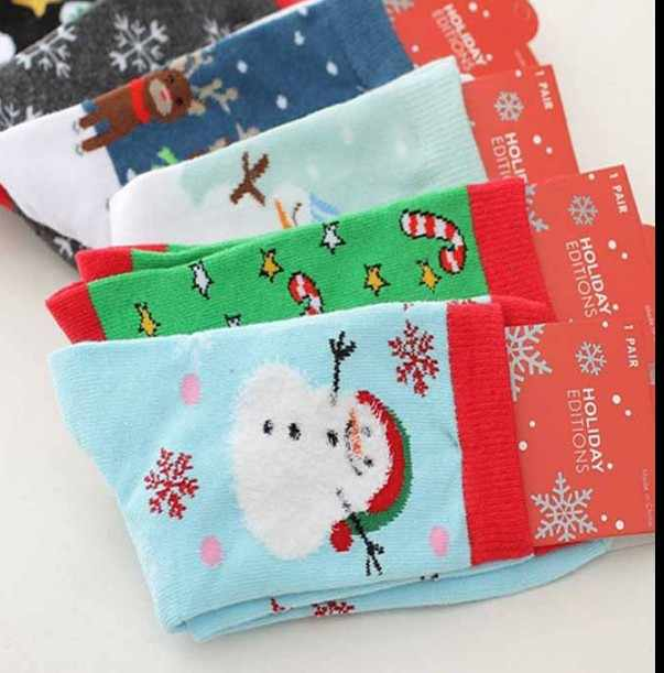 15 Style Christmas Women Men Casual Warm Cotton Socks Xmas Cute Santa Claus Snowman Snowflake Gifts Winter Autumn Comfortable