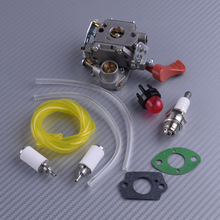 цена на LETAOSK 10pcs Carburetor Gaskets Fuel Line Kit Fit For Poulan PP338PT PP133 Pro PP333 Zama C1M-W44 Gas Trimmer 545008042