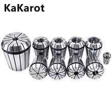 KaKarot ER pince mandrin ER25 ER32 0.008 pour CNC porte-outil de fraisage gravure Machine tour moulin ressort mandrin CNC pince ER