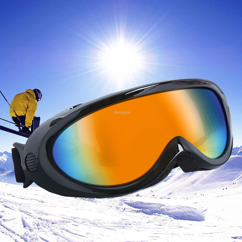 Winter Snowbaord Sports Goggles UV Protection Skating Snowmobile Sunglasses Skiing Eyewear Anti-fog Men Woemn Ski Glasses