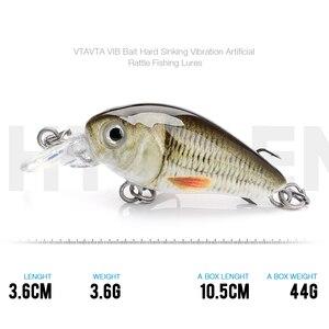 Image 3 - TREHOOK 36 мм 3,6 г 5 шт. мини приманка для рыбалки приманка топвотер искусственная жесткая Приманка Minnow Swimbait воблеры набор для ловли карпа
