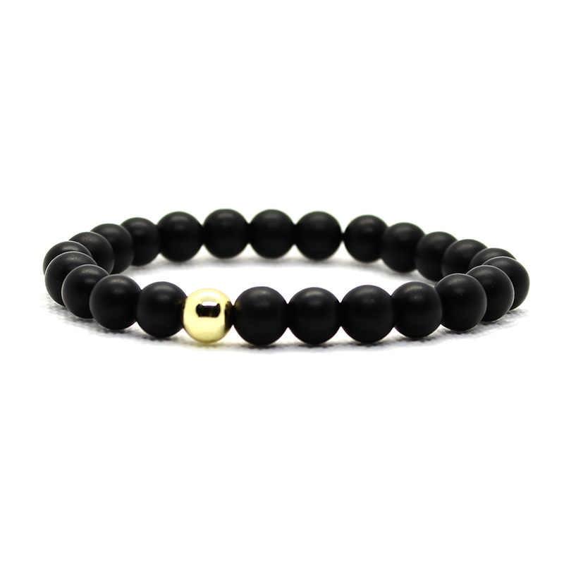 Pulseira para homens pulseira de pedra natural pulseiras para mulher pulseras jóias masculino pulseira
