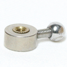Not ready made  toe part for stop motion puppet with M3 threaded hole for tie down system