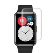 Мягкий TPU HD Clear Защитная пленка для Huawei Honor ES Smart Watch ES% 2FFit Full Screen Protector Cover For HUAWEI Watch Fit