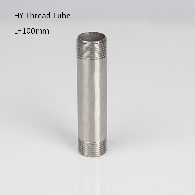 100mm Stainless Steel Tube Thread Pipe  1/4