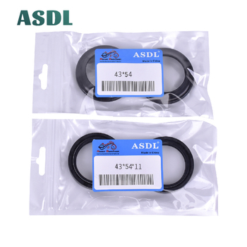 43x54x11 / 43X54 Motorcycle Front Fork Damper Oil Seal and Dust seal (43*54*11 43 54 11) image