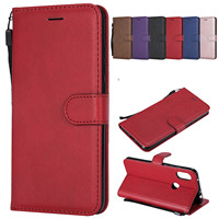 RISIEA Leather Wallet Cover For Xiaomi Redmi GO Note 4 4X 5A 3 5 6 7 pro 5Plus S2 Y1 Y1lite Y2 4A K20 pro Flip Case|Flip Cases| |  -