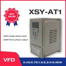 Convertidor de frecuencia VFD 1.5KW/2.2KW/4KW CoolClassic ZW AT1 salida 3P 220V envío gratis inversor frecuencia VFD wcj3