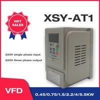 VFD 1.5KW/2.2KW/4KW CoolClassic convertitore di frequenza ZW-AT1 3P 220V Trasporto Libero di uscita VFD Inverter di Frequenza inverter wcj3