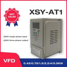 Vfd 1.5kw/2.2kw/4kw coolclassic 주파수 변환기 ZW AT1 3 p 220 v 출력 무료 배송 vfd 인버터 주파수 인버터 wcj3