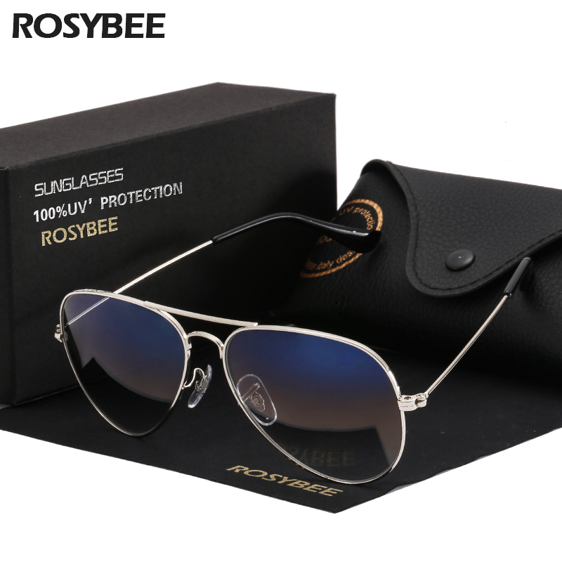 Super Quality Gradient Glass Lens fashion woman men Sunglasses cool aviation brand classic female oculos banned man sun Glasses image