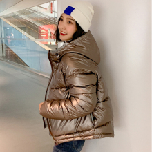 Winter Jacke Parka Stoff