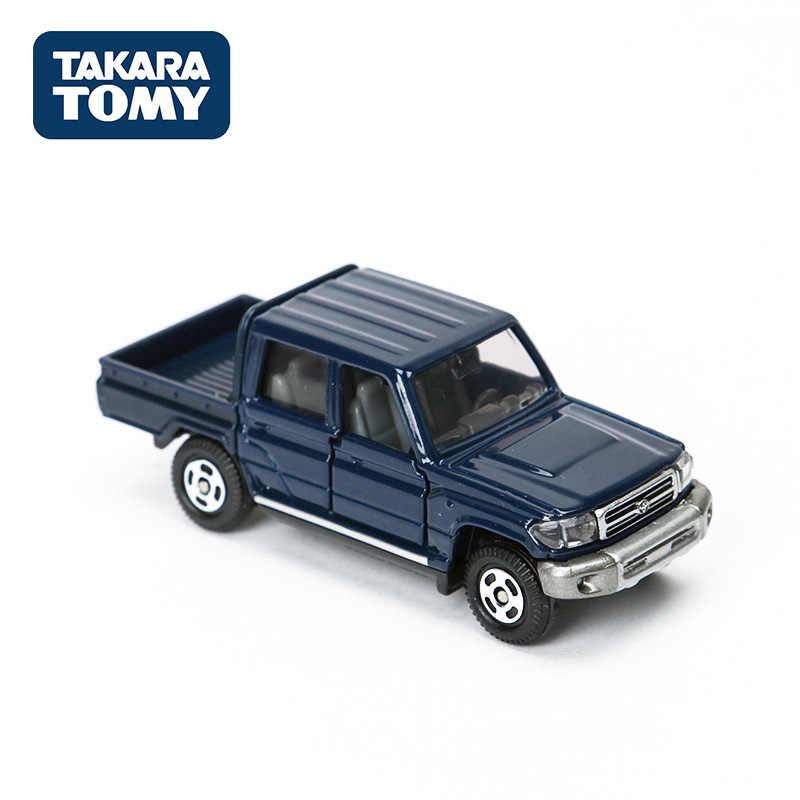 TAKARA TOMY Tomica No 103 Toyota Land Cruiser Mobil Skala 1: 71 Diecast Logam Kendaraan Mainan Koleksi Mainan 801351