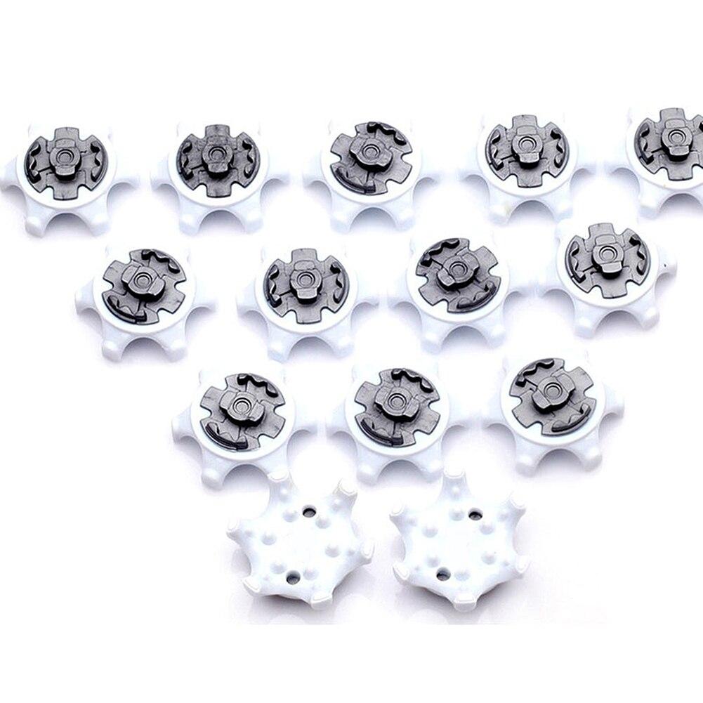 4-Support Dropshipping 14Pcs TPR White Golf Spikes Pins 1/4 Turn Fast Twist Shoe Spikes Replacement Accessories Golf Training Aids смотреть на Алиэкспресс Иркутск в рублях