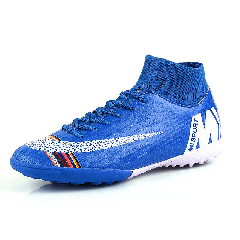 Football Shoes Hot Sale Men Big Size45 Soccer Shoes Cleats High Ankle Soccer Shoes Outdoor Traing Boots  Turf Soccer Shoes|Soccer Shoes| |  - title=