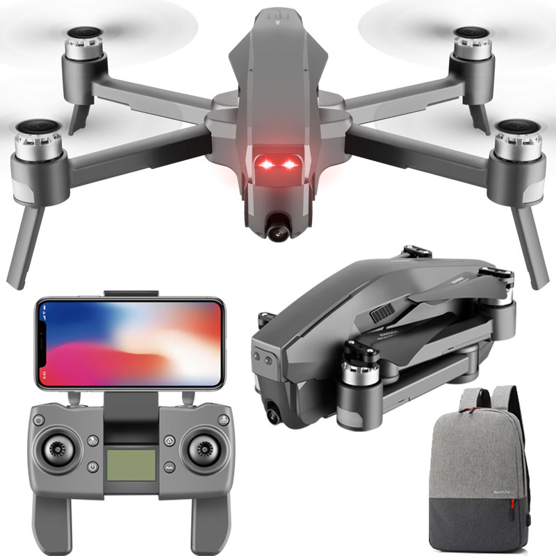 D4 Profissional Quadrocopter 5G GPS FPV 600M WiFi <font><b>Drone</b></font> With <font><b>4K</b></font> HD Camera <font><b>Brushless</b></font> Motor Flight 30 Min RC Helicopter Toys SG907 image