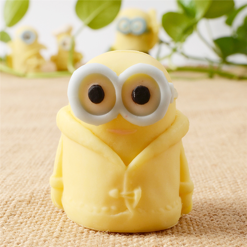 Nicole Soap Mold Minions Handmade Candle Chocolate Candy Silicone Mold Cake Decoration Tool