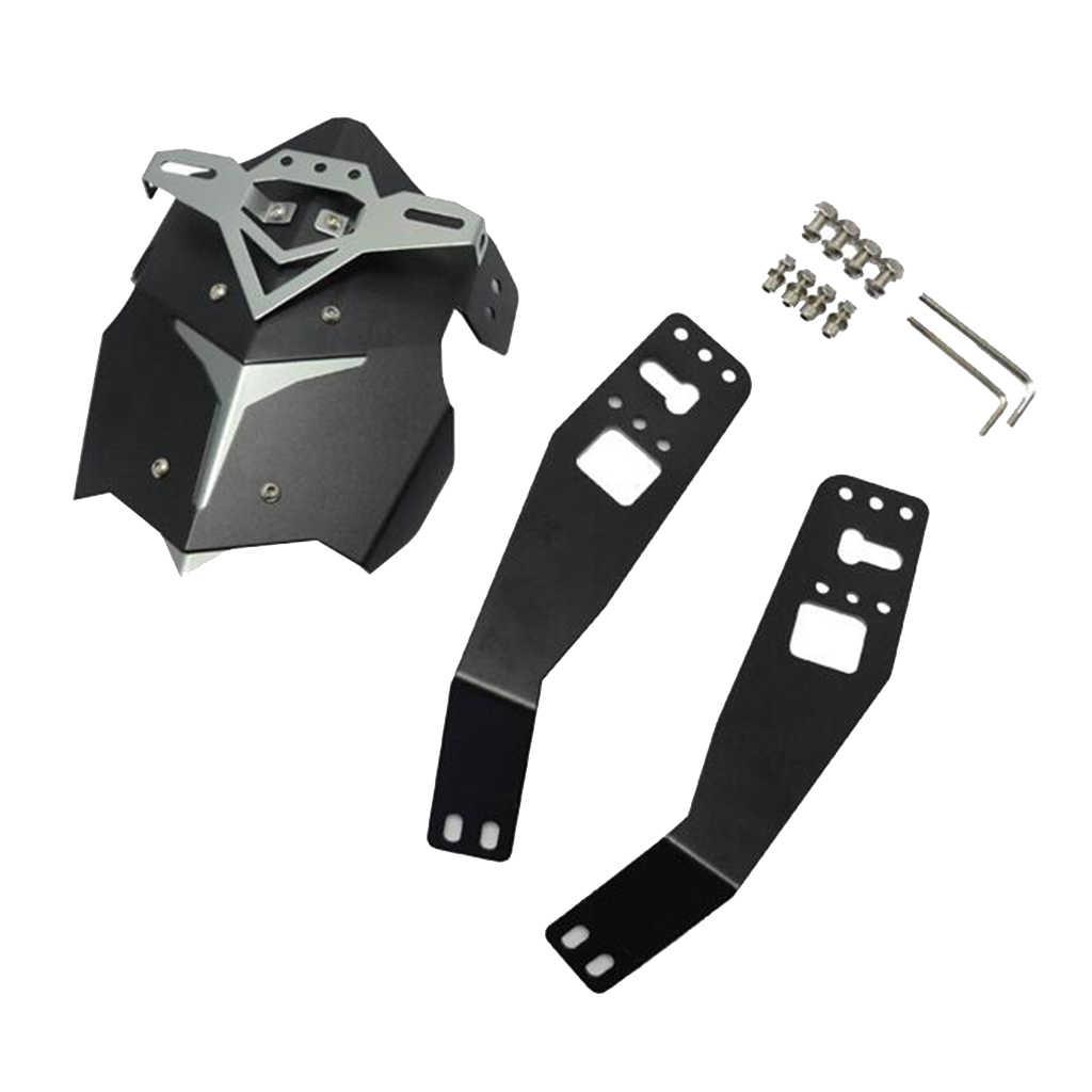 Motosiklet alüminyum arka tekerlek çamurluk Anti-Splash Guard koruyucu kapak ile braket değiştirme Honda Grom MSX125
