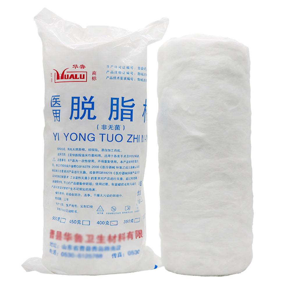 Experimental Consumables 500G Absorbent Cotton Laboratory Disposable Chemistry Medical Supplies