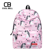 Women Cute Unicorn Backpack Sports Travel School Bag Casual Girls Female Bags For Teenager Gift