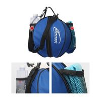 Basketball Bag Football Volleyball Softball Sports Bag Holder Adjustable Shoulder Strap 2 Side Net Bag Tools