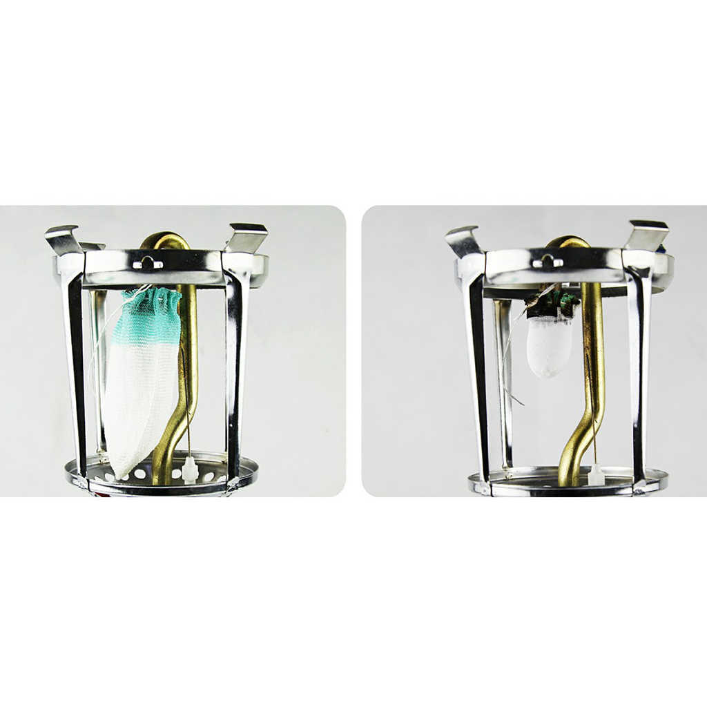 10x Universal Outdoor Camping Pinic Gas Lantern Lamp Light Mantles Accessory