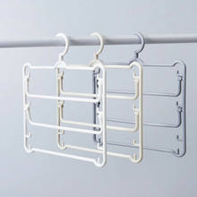 Newest Multi-functional Hanger Scarf Storage Rack Holder Towels Clothes Storage Hanging Shelf(China)