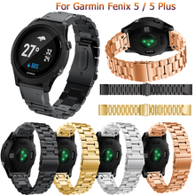 Fashion band for Garmin Fenix 5 wrist bands for forerunner 935 GPS Strap with quick release metal stainless steel bracelet bands