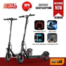 Trottinette électrique Portable 8.5 pouces pour adultes, 350W, 30 km/h, pliable, e-scooter motorisé, style Freestyle, 2020