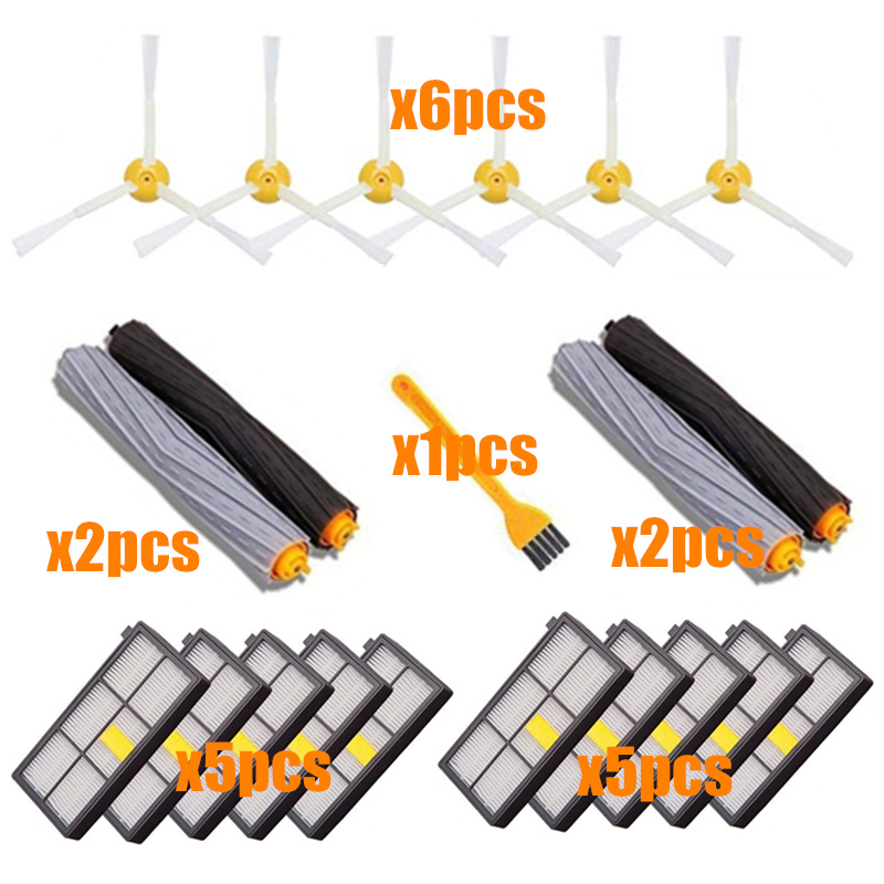 Sweeping Robot Accessories HEPA Filters For IRobot Roomba 800 900 Series 870 880 980 Replacements Parts Spare Brushes Kit