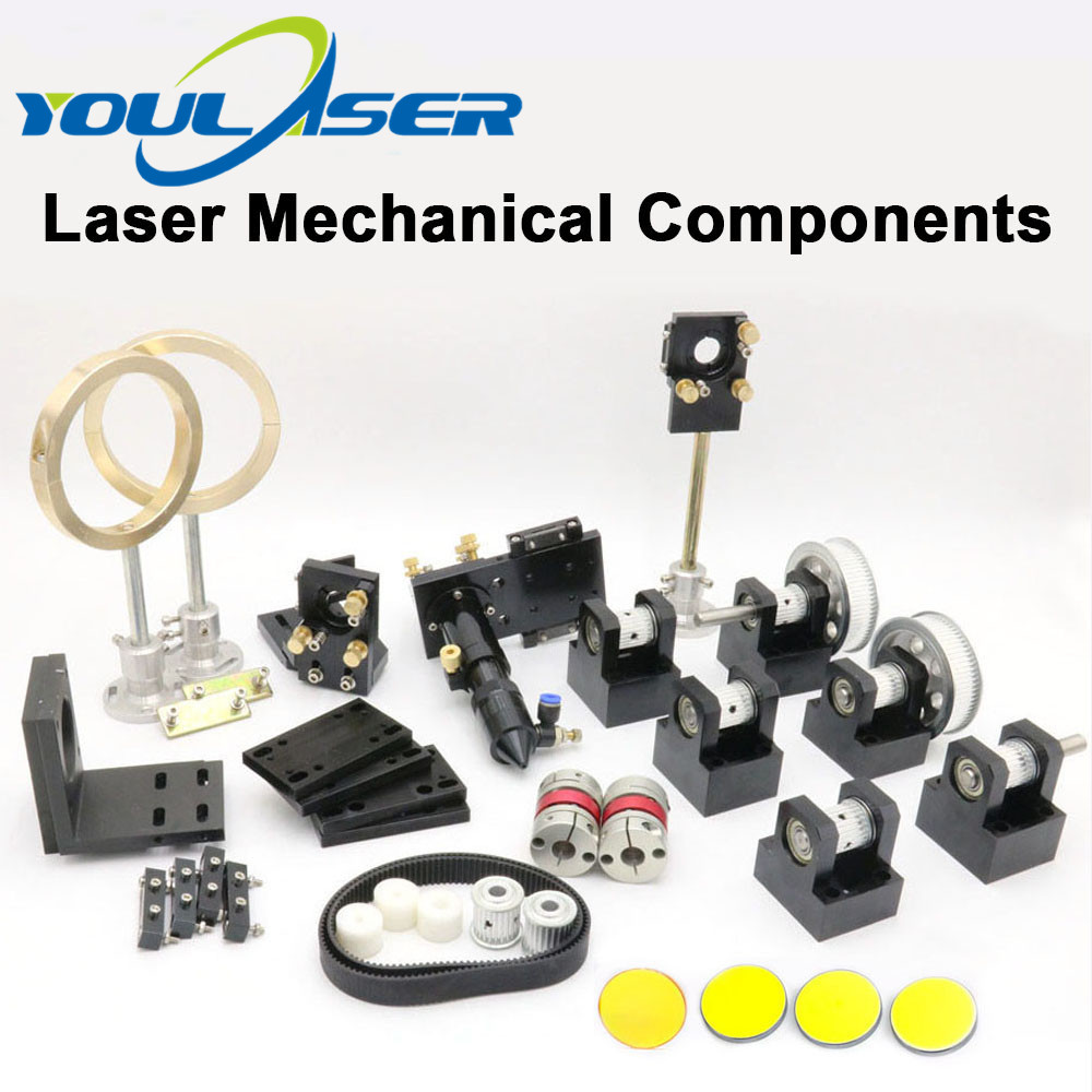 DIY Laser Mechanical Parts Metal Components With Lens Mirrors For CO2 Laser Engraving Cutting Machine