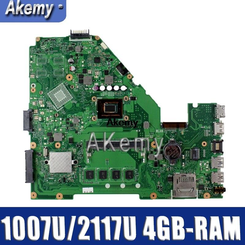 Motherboard para Asus Akemy Laptop R510c Y581c X550c A550c Mainboard Original 4gb-ram 1007u – 2117u Cpu X550cc X550ca X550cl