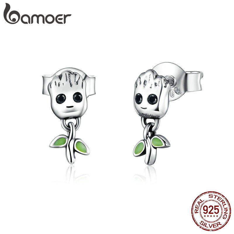 Best Price 41d06 Bamoer Little Tree Man Stud Earrings For Women Cartoon Hypoallergenic Jewelry Gift For Girl 925 Sterling Silver Jewelry Sce900 Cicig Co Stick man, an animated twig, lives with his stick lady love and their children in the family tree. cicig