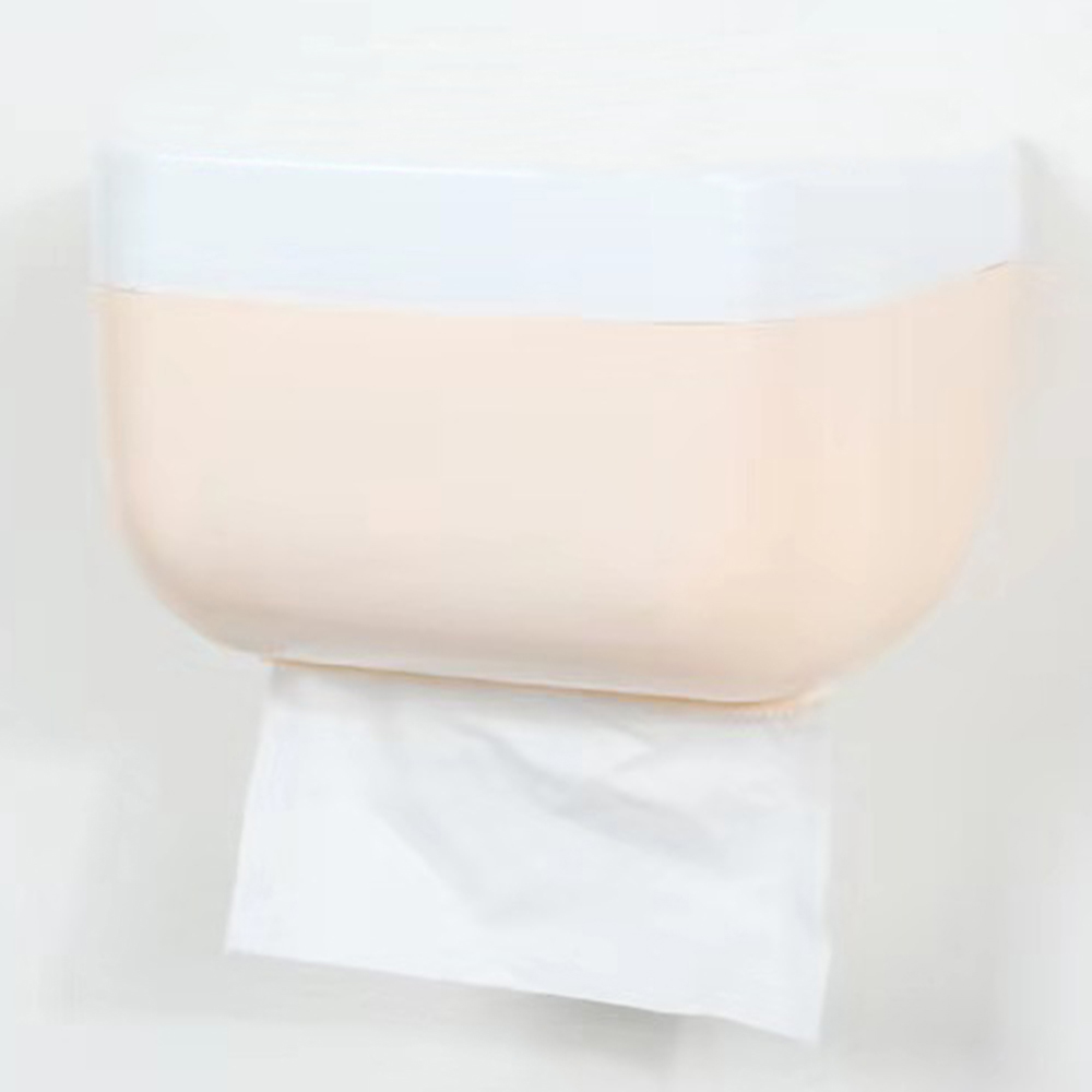 Fashion Bathroom Shelves Bathroom Paper Holder Wall-mounted Bathroom Tissue Dispenser Napkin Box Waterproof Toilet Paper Shelf