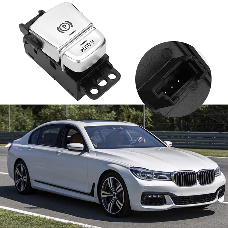 Car Parking Brake Control Switch Hand Brake Switch Auto-Hold For-BMW 7-Series (G12) 2016-2019