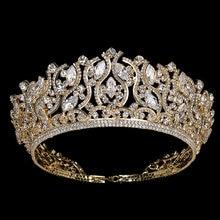 Корона хадияна модные великолепные женские свадебные аксессуары