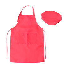 Aprons Artists Painting Chef-Hat Practical Outdoor Children DIY with for Class-Crafts