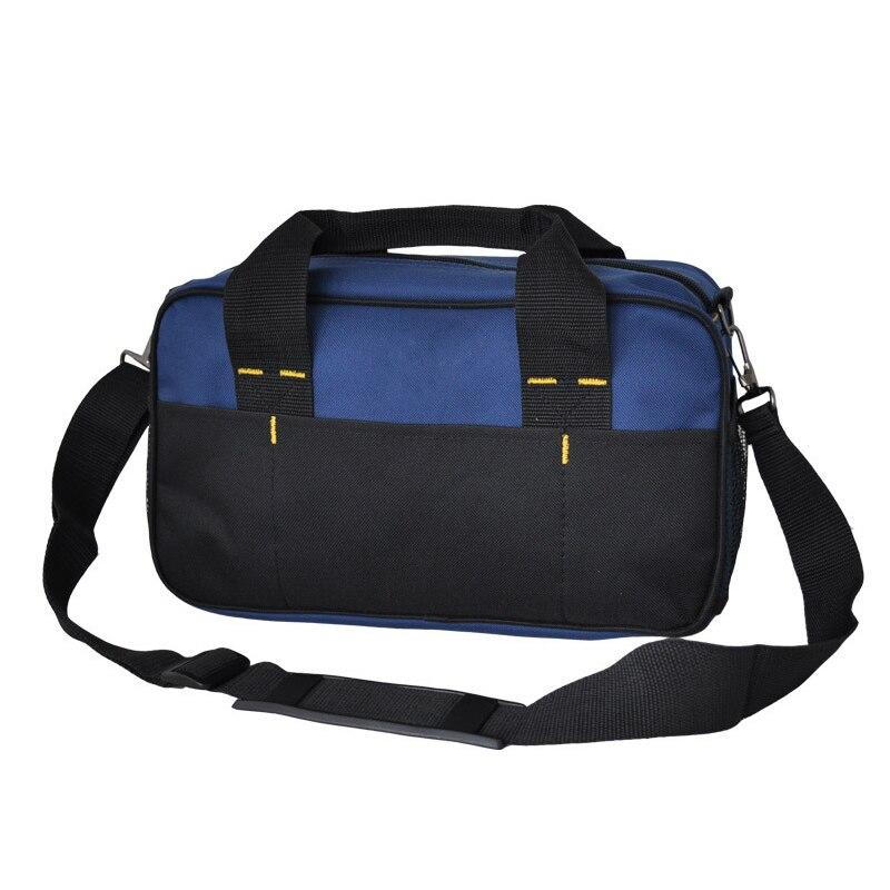 1 Pcs Tool Kit Pack Hardware Repair Kit Tool Bag Electrician Work Multifunction Durable Mechanics Oxford Cloth Bag Organizer B