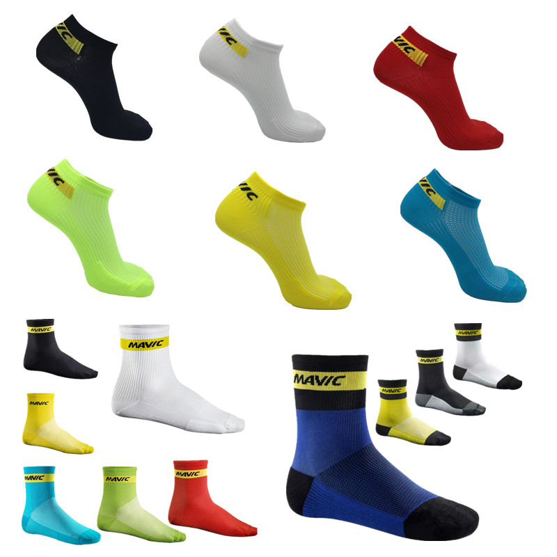 3 Style Pro Mountain Bike Socks Short And Knee-high Professional Compression Cycling Socks Outdoor Sport Racing Socks