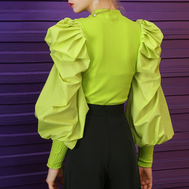 Fashion Top - Chartreuse - 3 Colors 2