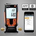 Testo 552 цифровой вакуумный манометр с Bluetooth для системы хладагента и теплового насоса измерительный манометр манометры