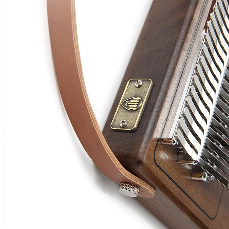 17 sleutel Creatieve Kalimba Piano effen Zwarte walnoot hout Kalimba Duim Piano Muziek Gift Student populaire Mooie - 6