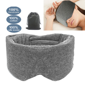 1PC Sleep Mask Comfortable Breathable Sleeping Eye Mask Adjustable Eyeshade Blinder Blindfold Eye Patch Best Night Companion(China)